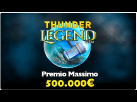 Interfaccia online thunder legend